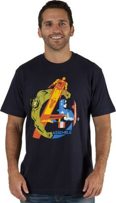 Assemble Avengers Shirt – 80sTees.com, Inc.