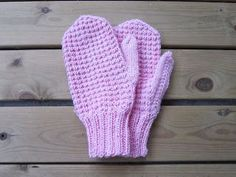 Fun Projects, Mittens, Needlework, Diy And Crafts, Knit Crochet, Gloves, Weaving, Knitting, Kids