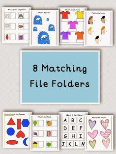 Autism Tank: Matching File Folders
