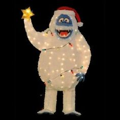OMG 5 ft tall Bumble the abominable snowman!!