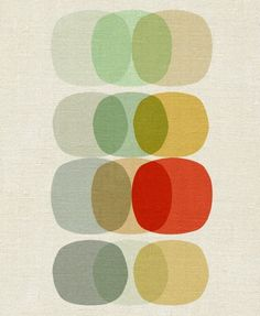 """Keep it Simple Circle"" print"