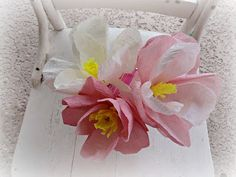 Don't Mess With My Tutus! : Crepe Paper Magnolias