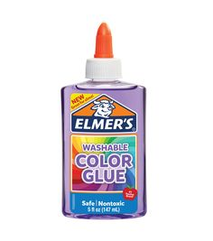 Jazz up school and craft projects or add a pop of color to slime. Elmer's Transparent Color Glue is non-toxic and safe for kids to use. Plus it's ok to get messy —Transparent Color Glue is washable and doesn't stain hands. Fun Arts And Crafts, Arts And Crafts Projects, School Projects, Kids Crafts, Teaching Supplies, School Supplies, Art Supplies, Slime No Glue, Diy Slime
