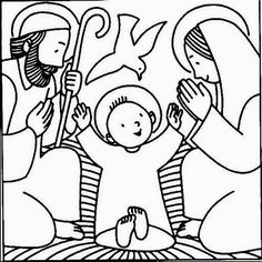 mortimers christmas manger coloring pages - photo#8