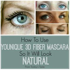 Have you tried our favorite mascara? It will thicken and lengthen your lashes just by adding it like mascara. It is that easy! Beauty Secrets, Diy Beauty, Beauty Skin, Beauty Makeup, Beauty Hacks, Hair Makeup, Beauty Ideas, Beauty Products, 3d Fiber Mascara