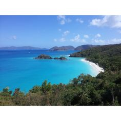My Favorite Place We Have Traveled To!!! Trunk Bay, St. John USVI....Breath taking to say the least!!! Can't wait to go back one day!