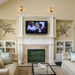 Weekend DIY: mounting your TV over the fireplace