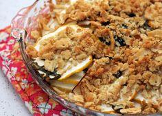 Pattypan Squash Bake