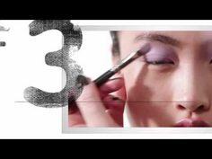 Smokey eye leggero ombretto colore pastello - VideoTrucco