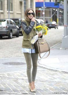 Olivia Palermo | Army Green
