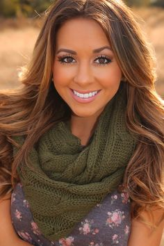 Snow Day Scarf: Olive Green #shophopes