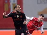 Sp. Braga-Benfica, 0-1 (golo de Mitroglou)