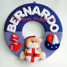 Guirlanda Urso Marinheiro