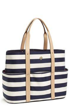 Love this striped #katespade tote