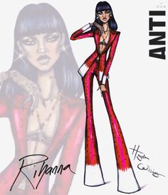 Rihanna #ANTI collection by Hayden Williams: Look 4