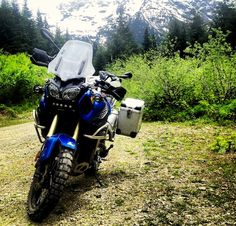 AZ to BC on the bike of my dreams. Great story from Overland Journal. Off Road Adventure, Adventure Gear, Adventure Travel, Motorcycle Types, Motorcycle Travel, Motorcycle Adventure, Super Tenere, Yamaha Motorcycles, Dual Sport