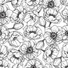 Flower Power | Removable Wallpaper | WallsNeedLove