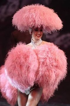 Full of pink feathers. Pink Love, Pale Pink, Pretty In Pink, Hot Pink, Cabaret, Le Crazy Horse, Pink Poodle, Fru Fru, I Believe In Pink