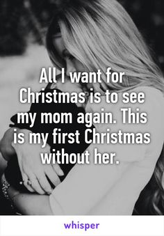 christmas without mom