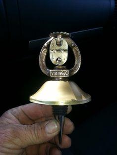 1958 fire sprinkler wine stopper I made