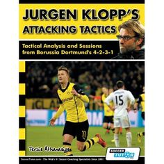 Jurgen Klopp's Attacking Tactics - Tactical Analysis and Sessions from Borussia Dortmund's (Paperback) Soccer Workouts, Soccer Drills, Soccer Coaching, Soccer Fifa, Manchester City, Manchester United, Premier League, Steven Gerrard, Chelsea Fc