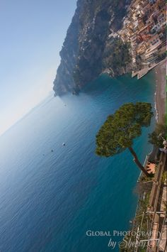 Amalfi Coast Italy. Such a beautiful place! I was in this water and it was glorious :)