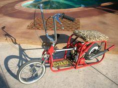 Go devil suitcase folding mini bike