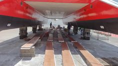 Benches lined up for inspection, drying up for next step.  For more pictures: https://www.facebook.com/JpcMarineWorks