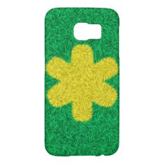 Yellow flower on green background You can also Customized it to get a more personally looks. #trendy #stylish #yellow-flower #green-background #abstract #decorative #modern-art #trendy-pattern #colorful-pattern #colorful-product