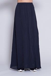 South Africa by Swedish brand Stylein is a loose fit and casual yet elegant full-length skirt. The skirt is made from a gorgeous viscose crepe and has full lining making it non-transparent. Thanks to the elastic waistband it is possible to wear this design on your hip, in the waist or as a dress over your chest. Wear it together with Gambia top for an elegant look or together with any of Stylein's comfortable jersey tops such as 'Lain' for a more relaxed look.