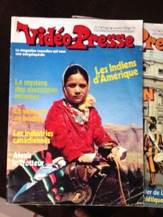 Vidéo-Presse, magazine lancé en 1971... Quand les jeunes n'avaient pas Google pour leurs travaux scolaires.