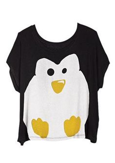 @Kristina Kilmer Sturm ..i keep seeing penguin things and thinking of your halloween costume haha, you're welcome (: