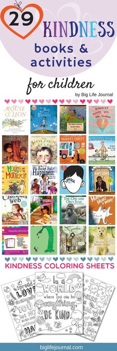 29 Books and Activities That Teach Kindness to Children – Big Life Journal
