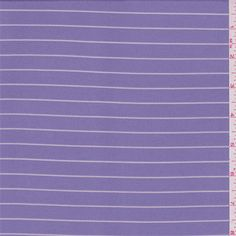 Lilac Stripe Jersey Knit - 35813 - Fabric By The Yard At Discount Prices