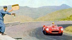Luigi Musso Ferrari 250 TR Winner Targa Florio 1958