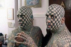 Say WTF for these weird Odd #tattoos!!