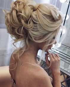 Coiffure De Mariage : Featured Hairstyle: Elstile (El Style); www.elstile.ru; Wedding hairstyle idea. https://flashmode.be/coiffure-de-mariage-featured-hairstyle-elstile-el-style-www-elstile-ru-wedding-hairstyle-idea-19/ #CoiffureMariage
