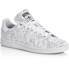 c6d970fe3fee Adidas Stan Smith Rita Ora Color Paint Collection Lace Up Sneakers ( 85) ❤  liked