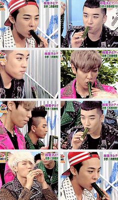 BIGBANG ♡ G-Dragon , Daesung , TOP , Seungri , and Taeyang … LOL LOL LOL