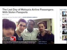 BREAKING! Iranian Lawmaker Alleges U.S. Kidnapped Missing Malaysia Airlines