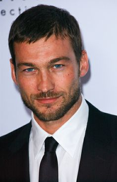 Andy Whitfield ... he looks like my ex, but is still gorgeous