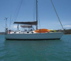 Offshore yachts have a rugged cruising design that was created and built by Cruising World as the ideal cruising yacht. Check out this Offshore Defiant. Sailing, Cruise, Boat, Candle, Dinghy, Cruises, Boats, Ship