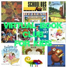 12 Authors in 12 Months - join us for the Virtual Book Club for Kids and explore some new children's books with your kids or students this year!