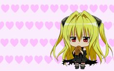 Find the best To Love Ru Konjiki No Yami Wallpaper on GetWallpapers. We have background pictures for you! To Love Ru Momo, Motto To Love Ru, Black Cat Anime, Anime Fnaf, Anime Kawaii, To Love Ru Wallpaper, Yami Chan, Chibi, To Love Ru Darkness