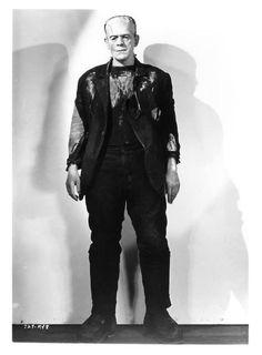 Karloff from the Bride of Frankenstein (1935)