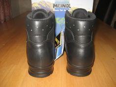 MEINDL Police GTX Einsatzstiefel Leder, Wanderschuhe Schwarz Gr. 41,5 Neu OVP! | eBay