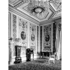 Drawing Room, Ashburnham Place, Surrey, Destroyed 1953