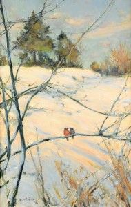 Seasonal - Winter - Snow and cold - Skansen 1891. Free printable.