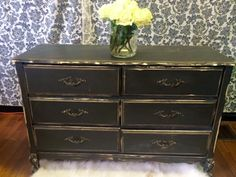 Black French Provincial