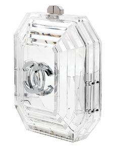 Chanel clear clutch | Minimal + Chic | @CO DE + / F_ORM